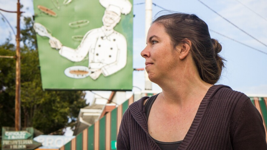 "Kristen Nevedal co-founded the Emerald Growers Association, a group of 400 marijuana farmers from across California. The Garberville resident says that ""trimmigrants"" are straining her small town."