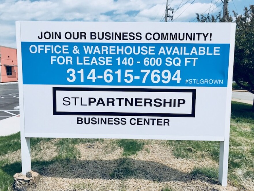 The St. Louis Economic Development Partnership says 50 percent of the expanded space is already leased.