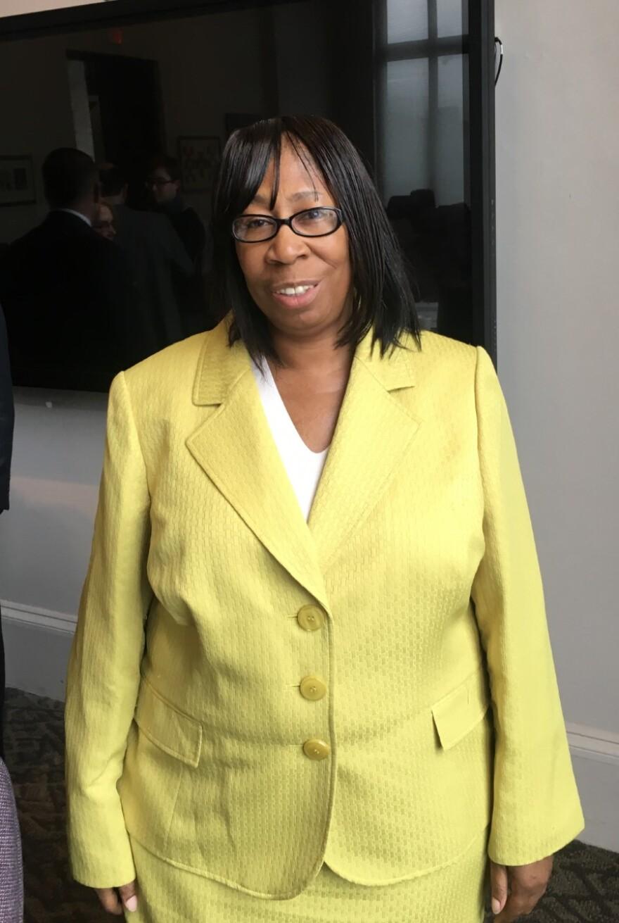 Councilwoman Phyllis Cleveland