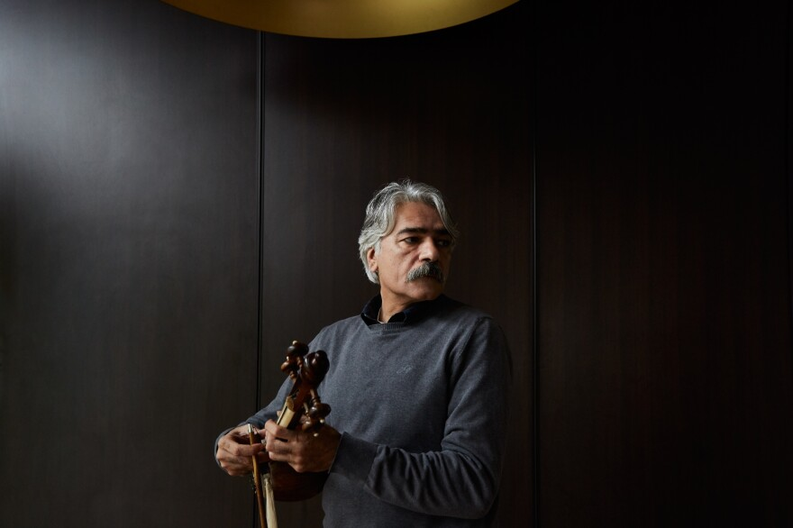 Kayhan Kalhor is an Iranian <em>kamancheh</em> virtuoso and composer whose work has been celebrated around the globe.