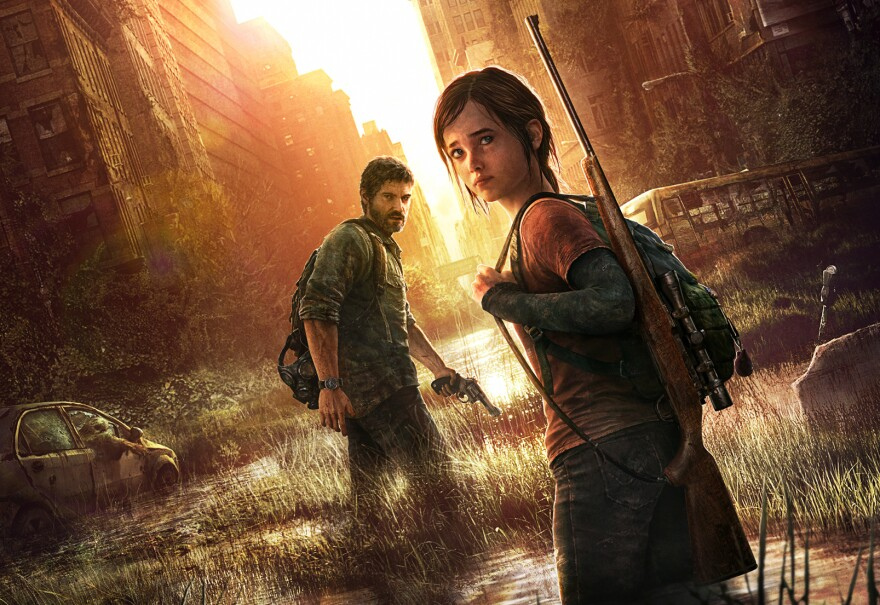 <em>The Last of Us</em> is a video game that breaks the traditional narrative form of storytelling in games.