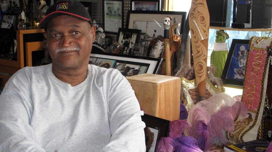Ronald Lewis, a resident of the Lower 9th Ward, says eight years after Hurricane Katrina, rebuilding his neighborhood is a story still in progress.