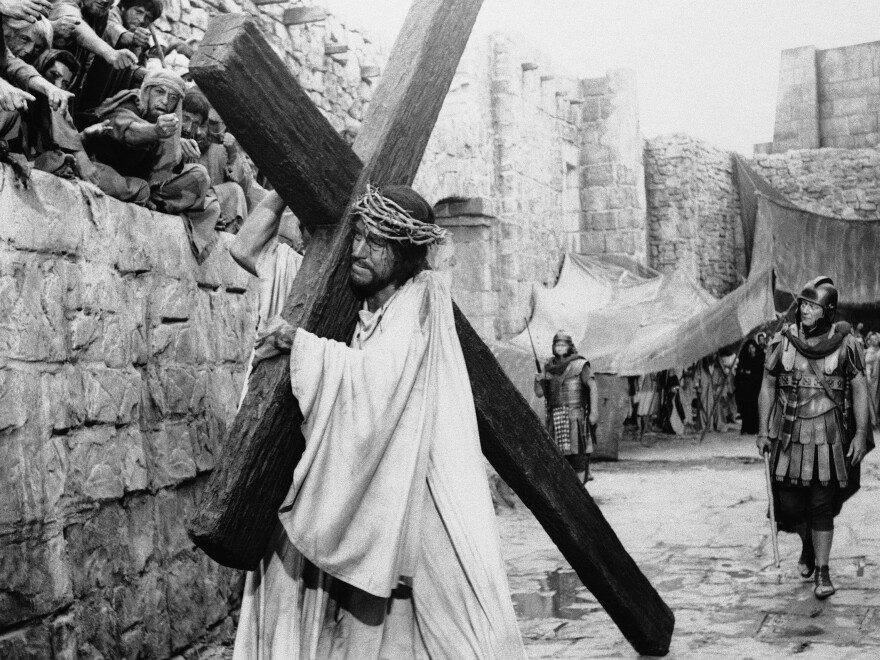 Von Sydow played Jesus in 1965's <em>The Greatest Story Ever Told</em>.