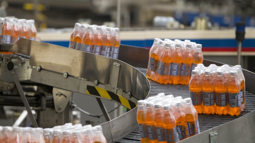 """""""People call Irn Bru Scotland's other national drink, after whisky,"""" says Sara Grady, who works for a market research firm."""