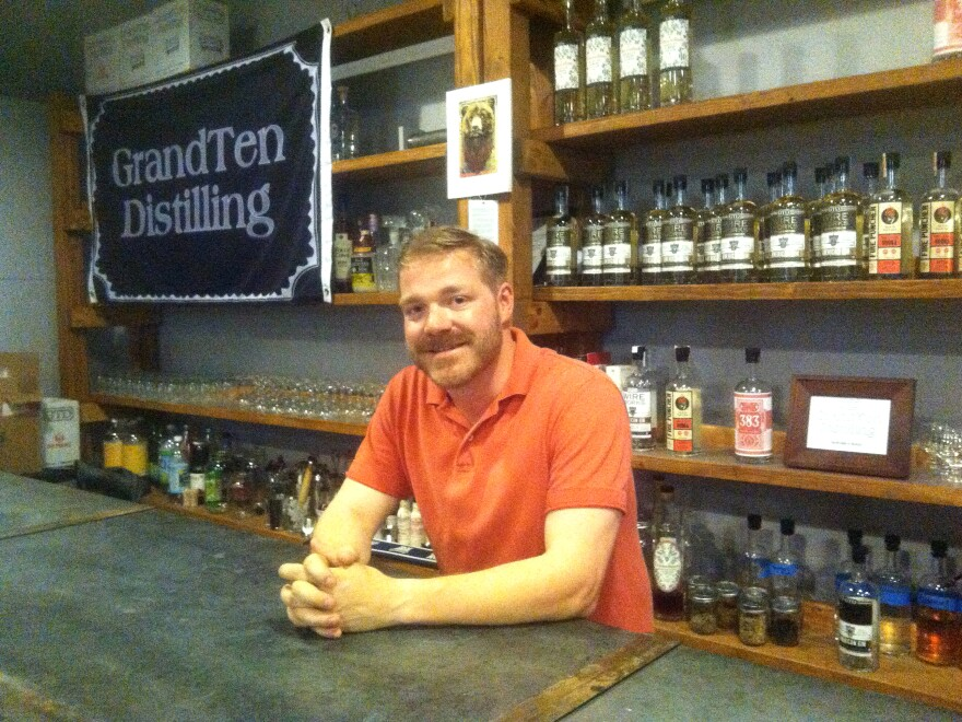 Lonnie Newburn says if he had to stress about extortion, he definitely wouldn't be opening a distillery in Southie.