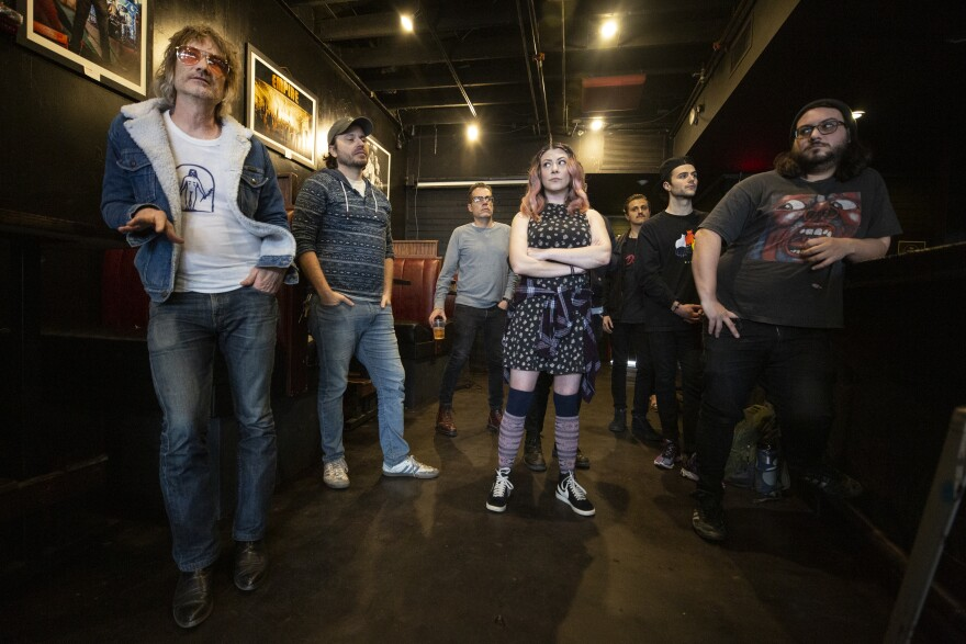 Music industry members in the Red River Cultural District met on Saturday to discuss organizing to help people affected by the cancellation of South By Southwest.