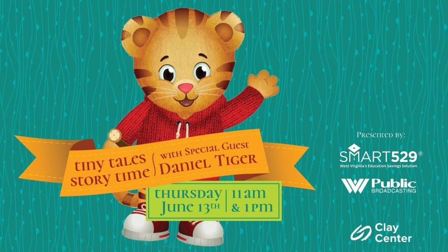 Tiny Tales Story Time with Special Guest Daniel Tiger!