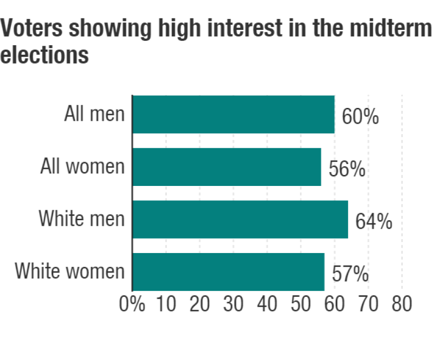 Voters showing high interest in midterm elections