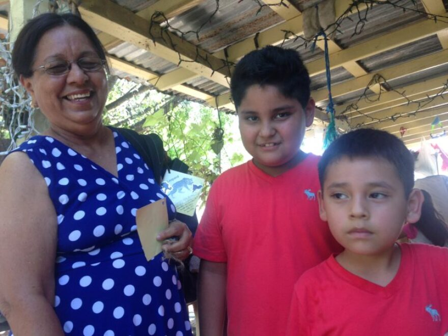 Felicita Ochoa (left) adopted her two biological grandchildren after they were removed from their home due to physical and sexual abuse.