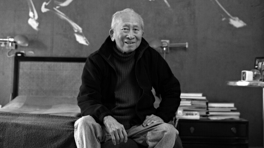 The Walt Disney Studio's artists used Tyrus Wong's paintings as a guide for the forest backgrounds of <em>Bambi</em>. His work is featured in a new exhibit at the Museum of Chinese in America.