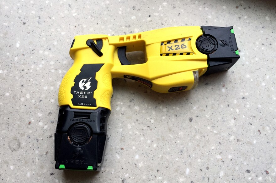 A stun gun used by officers with the Hartford Police Department.
