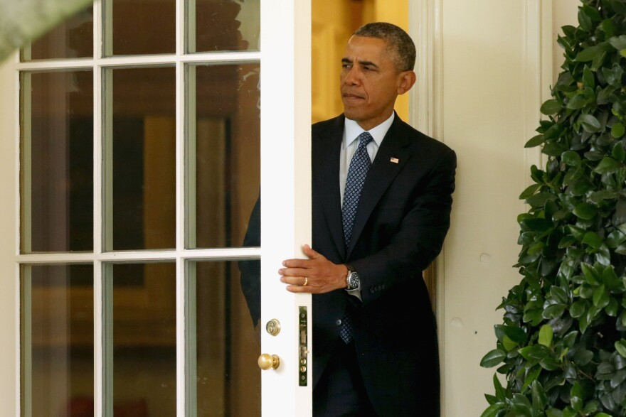 President Obama said he will move some immigration enforcement assets from the interior of the country to the border, part of his effort to fix the immigration system.