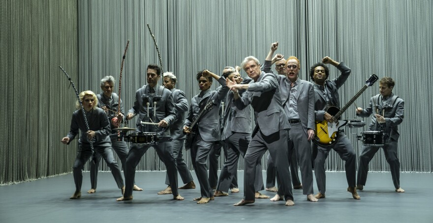 <em></em>Spike Lee directed <em>David Byrne's American Utopia, </em>which debuts Oct. 17 on HBO.