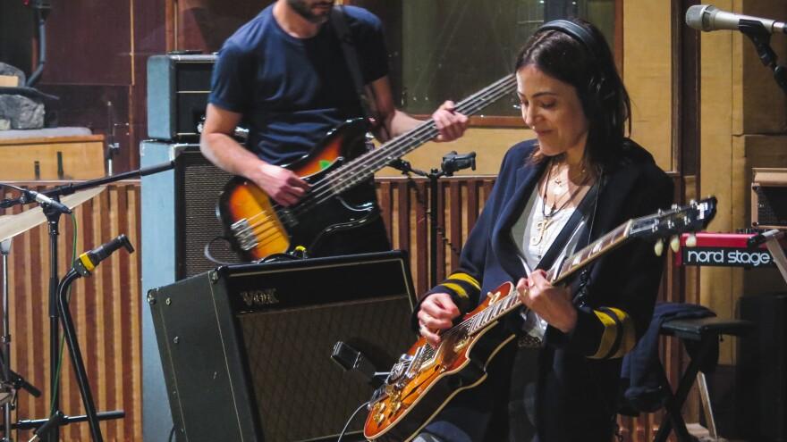 Keren Ann performs live for a <em>World Cafe's</em> Sense Of Place, Paris session.
