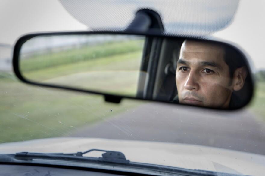 A Border Patrol agent in McAllen, Texas.