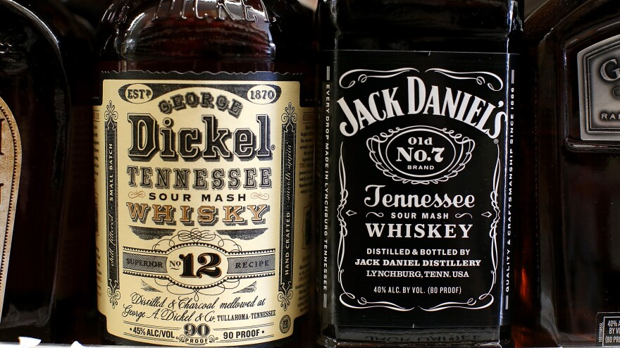 """New regulations on what can be called """"Tennessee whiskey"""" have sparked a fight between the makers of Jack Daniel's and George Dickel, two best-selling brands."""
