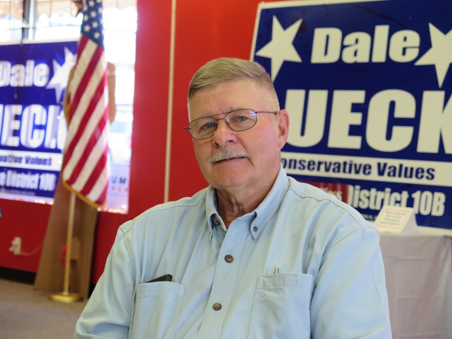 State Rep. Dale Lueck represents Aitkin and the surrounding area. He says growing support for Republicans in rural Minnesota has a lot to do with economics and urban Democrats' environmentalism, which threatens new mining and fossil-fuel energy jobs.