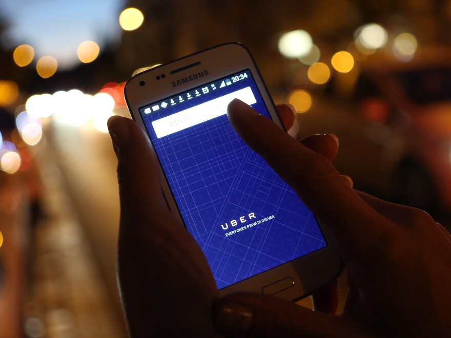 Some Uber drivers and passengers complain that the app's built-in navigation doesn't give its drivers the best directions.