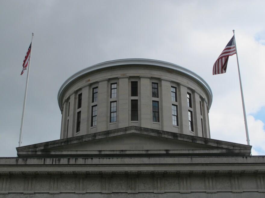 photo of Ohio Statehouse cupola