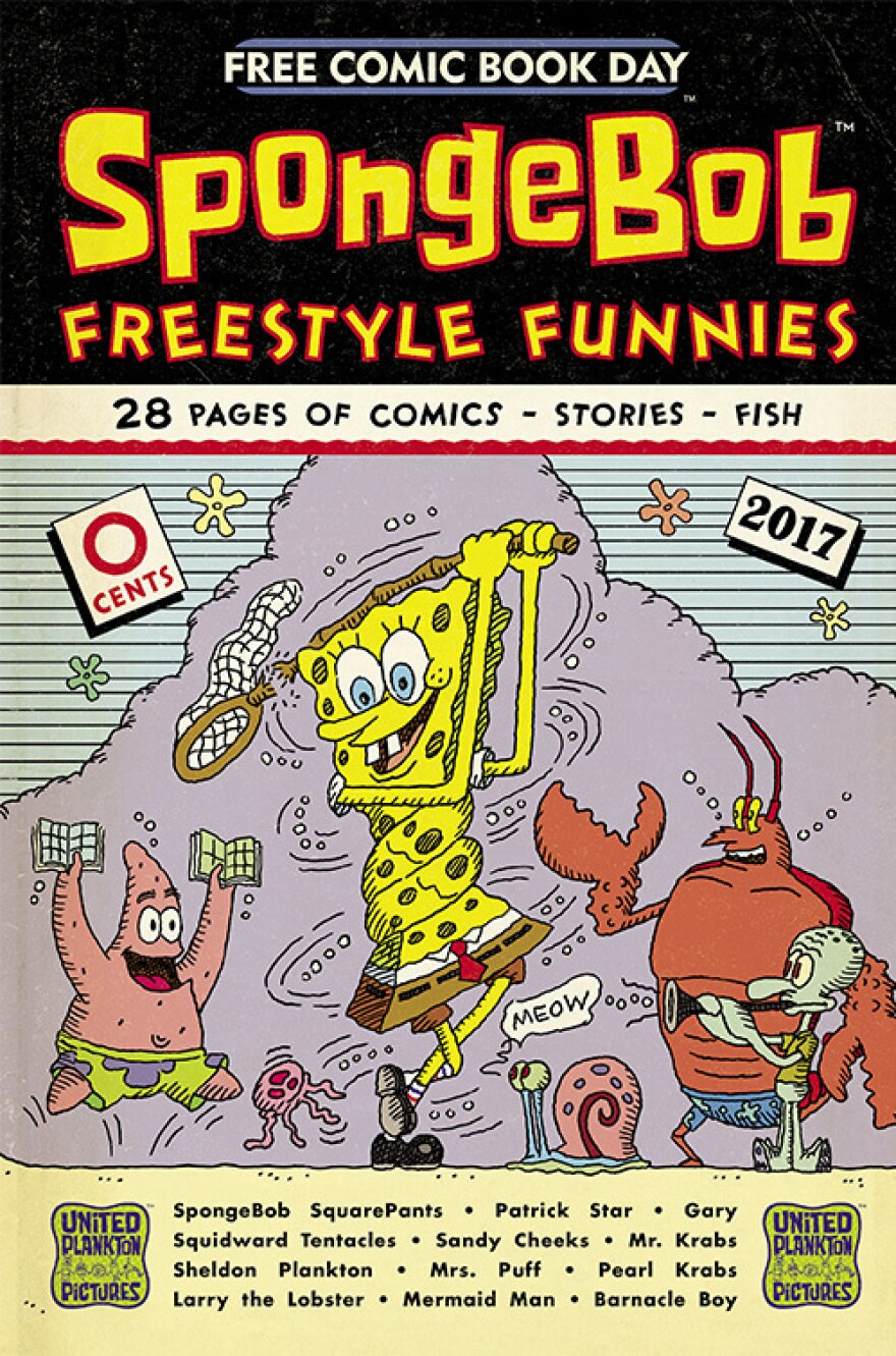 <em>SpongeBob Freestyle Funnies</em>