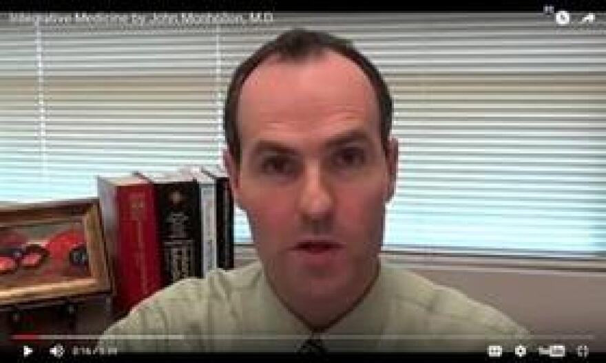 Dr. John Monhollon, of Florida Integrative Medicine Center in Sarasota