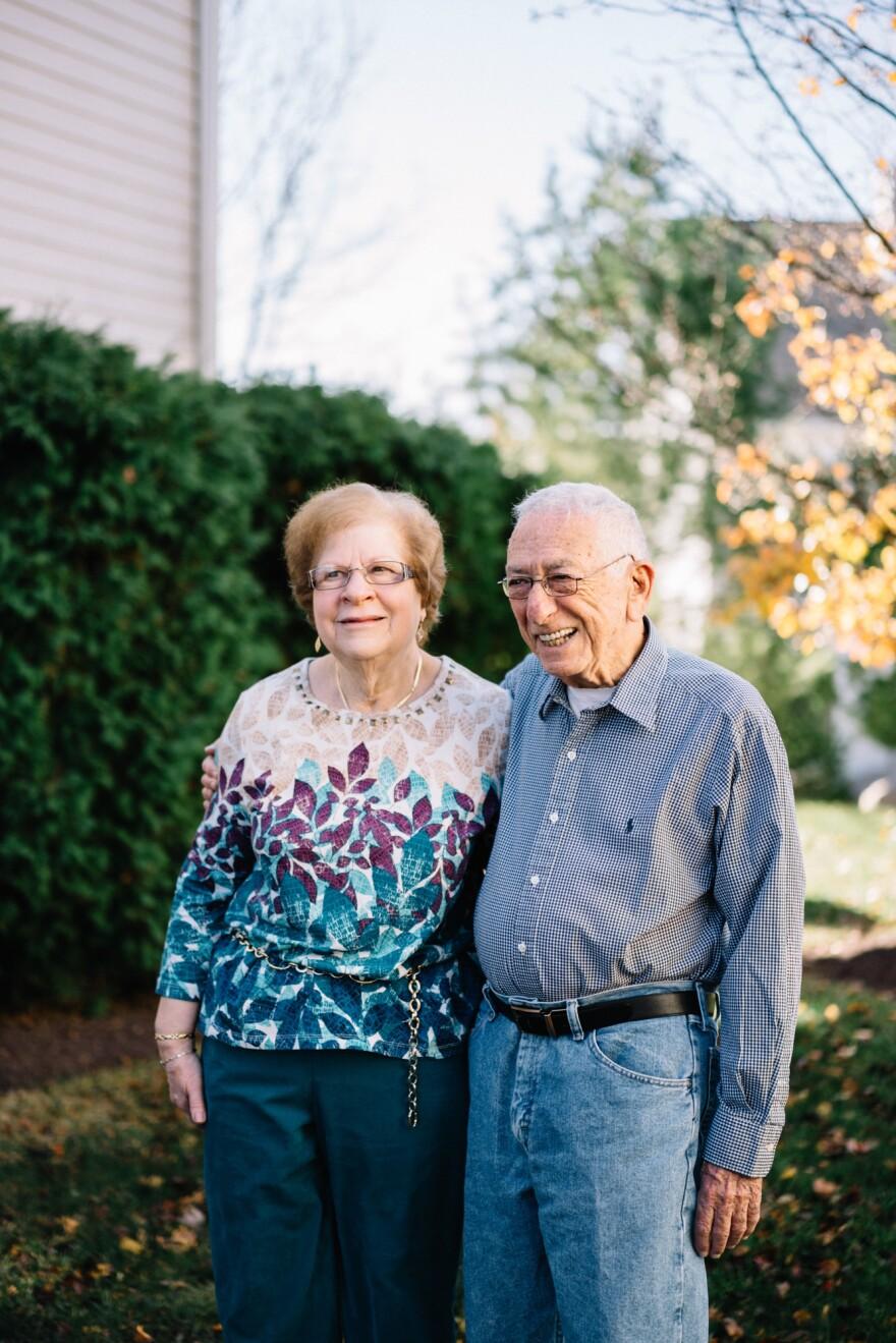Morton and his wife Joan Pollner are both enjoying life.