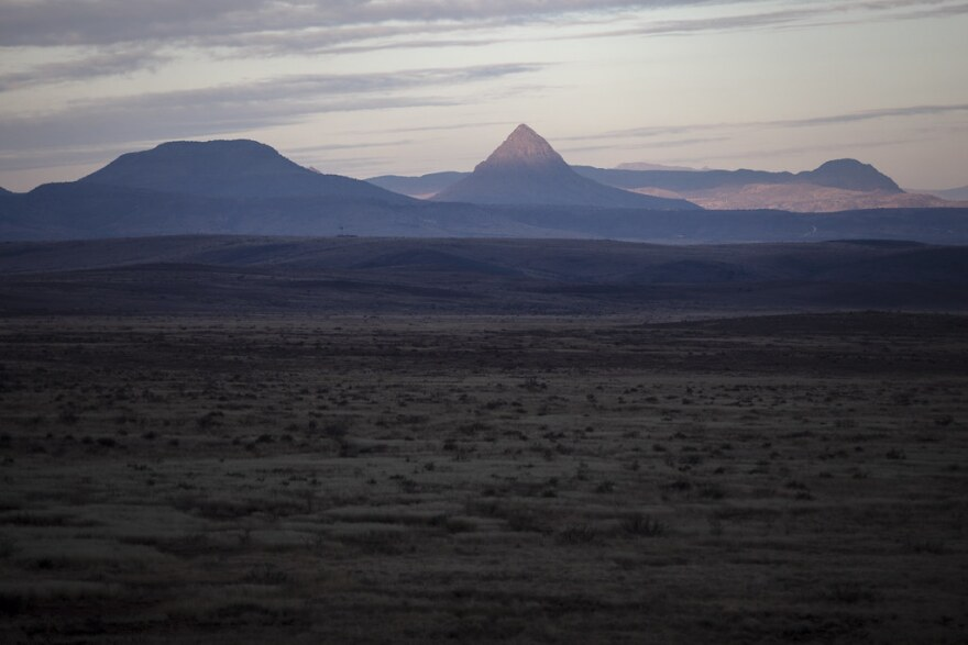 West Texas landscape