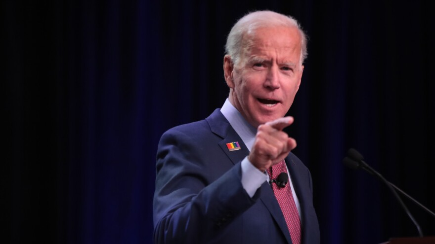 Former Vice President Joe Biden unveiled an ethics plan that also assails practices in the Trump administration. It comes as his son Hunter is making new pledges to curtail overseas business dealings to quell criticism over his role in Ukraine's energy sector while his father was managing policy with the nation.