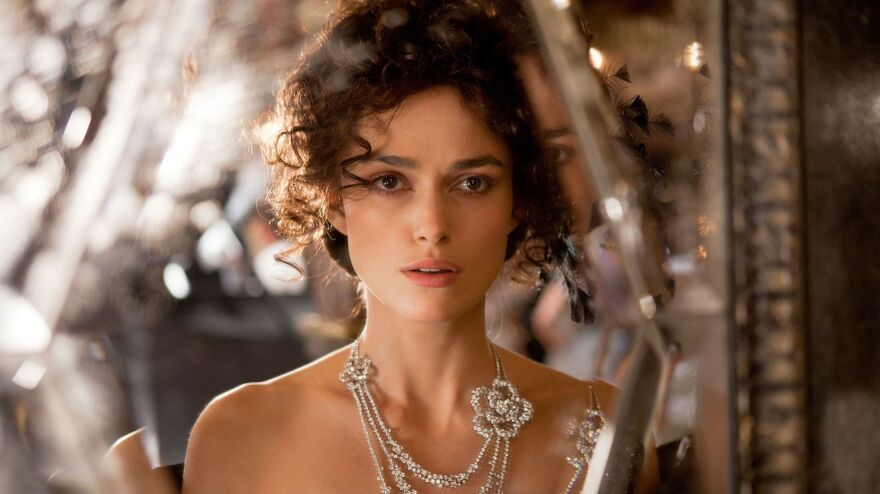Keira Knightley and director Joe Wright have worked together on three film adaptations of period novels.