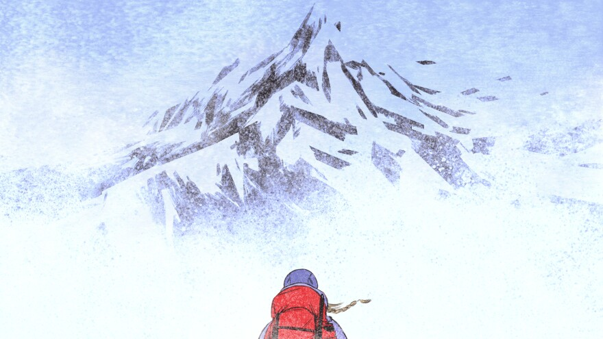 Emily Harrington set out to summit a mountain, only to turn around within sight of the peak.