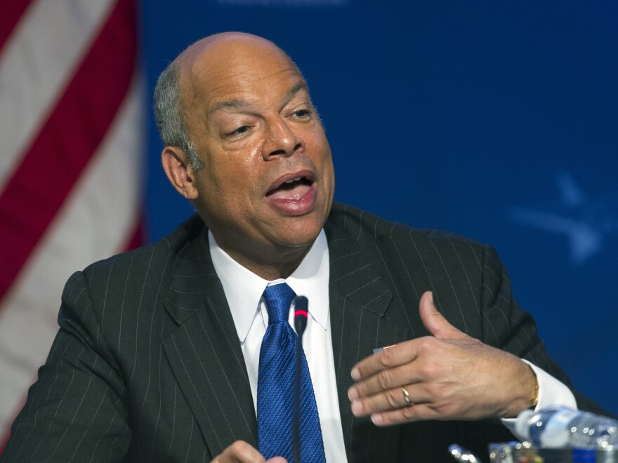 """Department of Homeland Security Secretary Jeh Johnson says a video released by al-Shabab """"reflects [a] new phase"""" for terrorism networks."""
