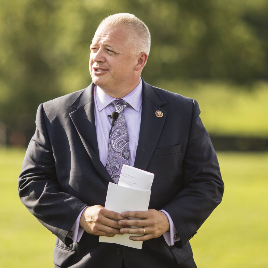 Riggleman was first elected to Congress in 2018. If defeated in his primary, the southwestern Virginia district he represents could be a challenge for Republicans to hold.