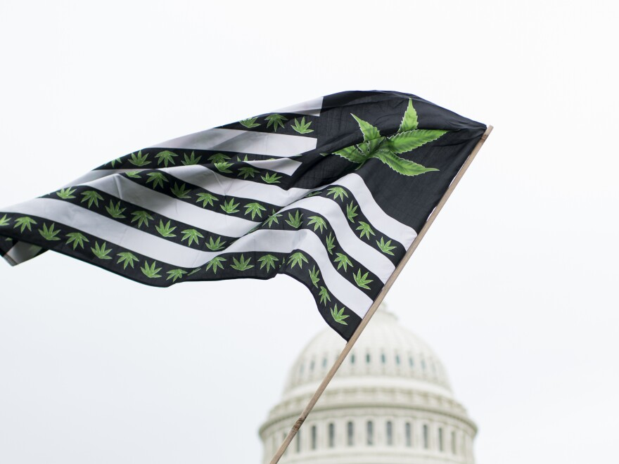 Because of continued restrictions by Congress, Washington, D.C., has not legalized the sale of marijuana. Possession of certain amounts, however, is legal.