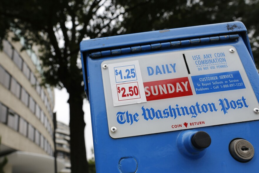 <em>The Washington Post</em> is now in its seventh straight year of declining revenues, says the paper's chairman, Donald Graham. Rather than continue to watch the paper struggle, Graham and Publisher Katharine Weymouth decided to look for a buyer.