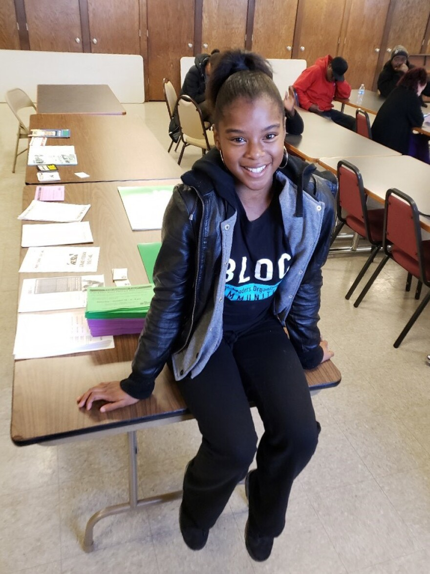 In 2018, Amari Rucker said she didn't even know who the president was. Now, thanks to her work with Angela Lang's organization, she's a passionate and civic-minded voter.