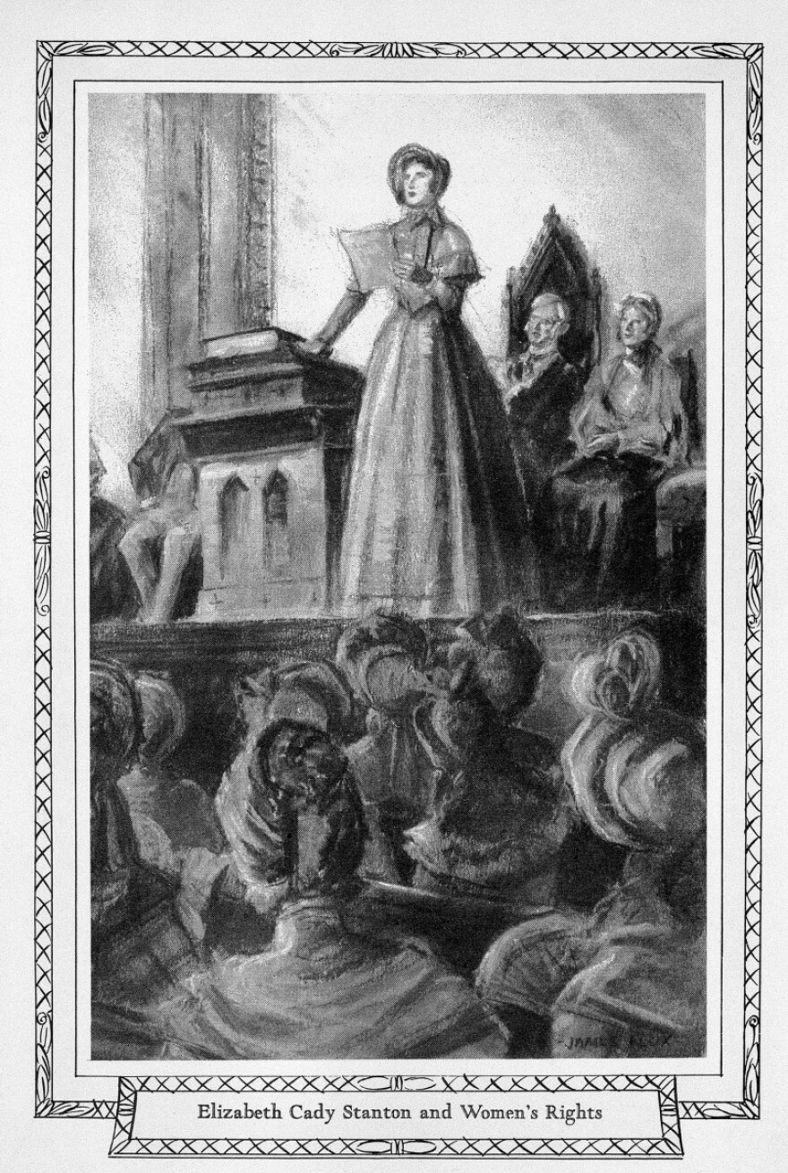 Discrimination against women in the Abolition movement led to the Seneca Falls Convention with broad goals for women's rights, including the vote