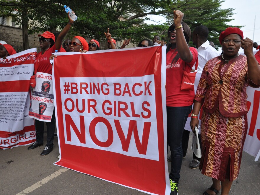 Earlier this month, people demonstrated in Nigeria's capital, Abuja, calling on the government to rescue girls taken from a secondary school in Chibok region in April. Now there are reports that militants of the extremist Boko Haram movement have kidnapped more girls.