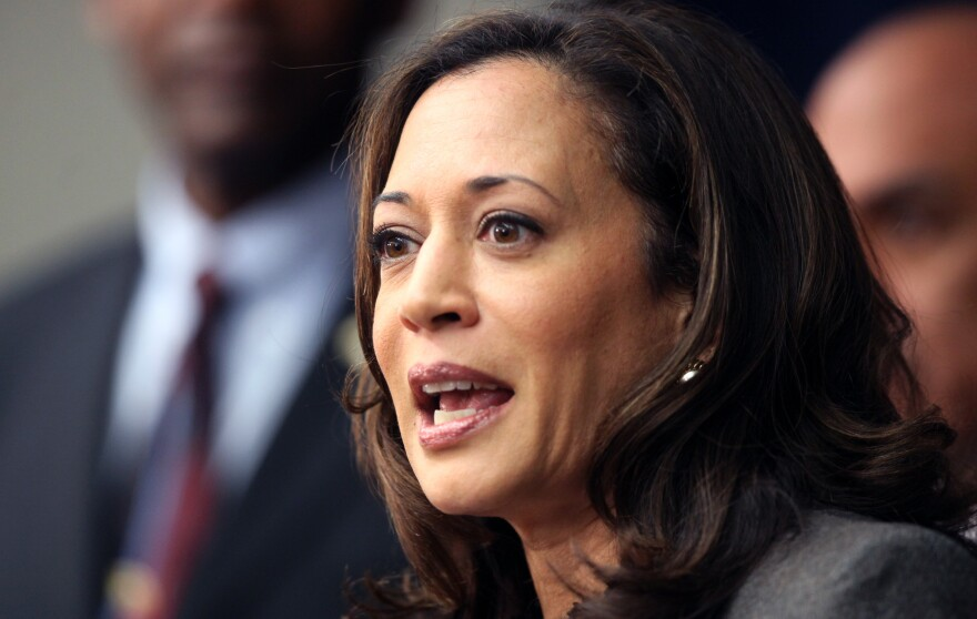 California Attorney General Kamala Harris is running for the U.S. Senate, and is expected on Tuesday to advance to the general election against U.S. Rep. Loretta Sanchez — a fellow Democrat.