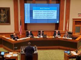 Public calls for more inclusion during the second Lee County redistricting hearing