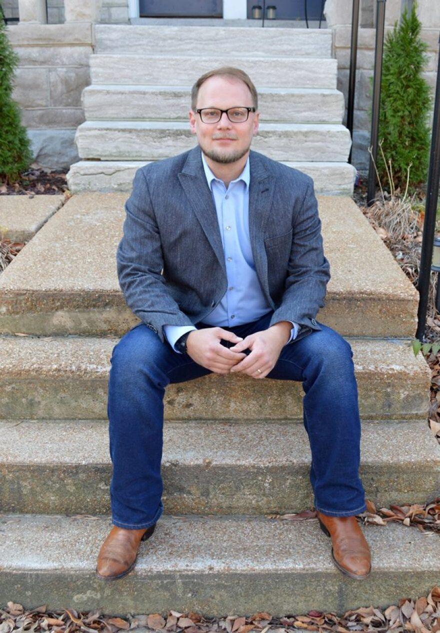 Paul Fehler, the Democratic candidate for 8th Ward Alderman