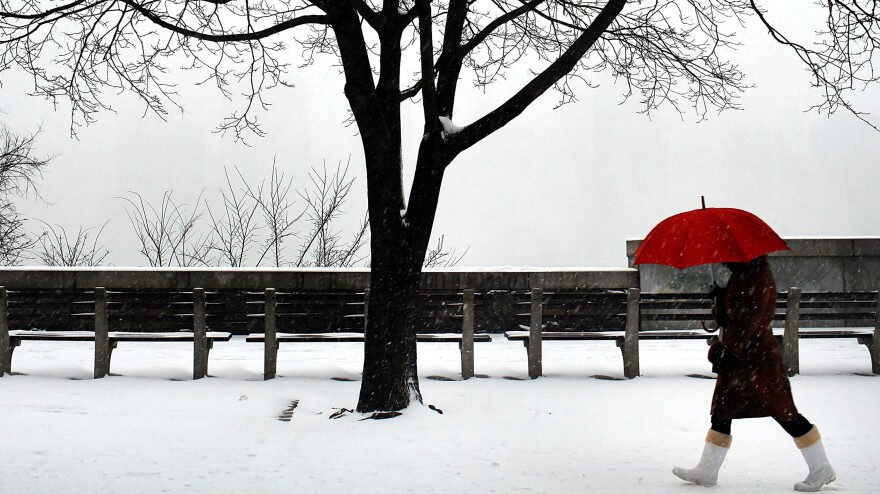 Jan. 21, 2012: A winter scene in Brooklyn, N.Y. Snow may be a relatively rare sight this coming winter in the U.S.