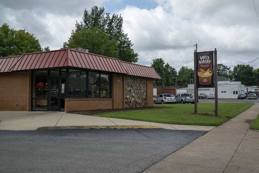 Kruta's Bakery in Collinsville in August 2019. The bakery is still open during the coronavirus, but sales are down between 25% and 30%.