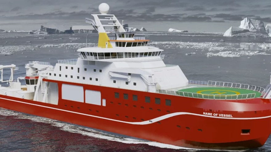 "Imagine ""Boaty McBoatface"" emblazoned on the side of this ship."
