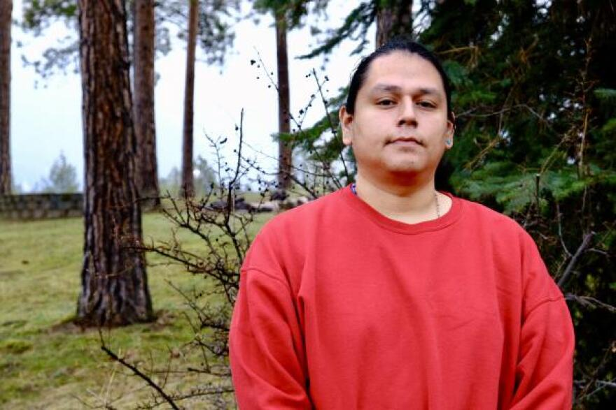 Patrick Yawakie, a member of the Zuni Pueblo tribe in New Mexico, helped organize social media campaigns for Native Lives Matter and the Dakota Access pipeline protest at Standing Rock.