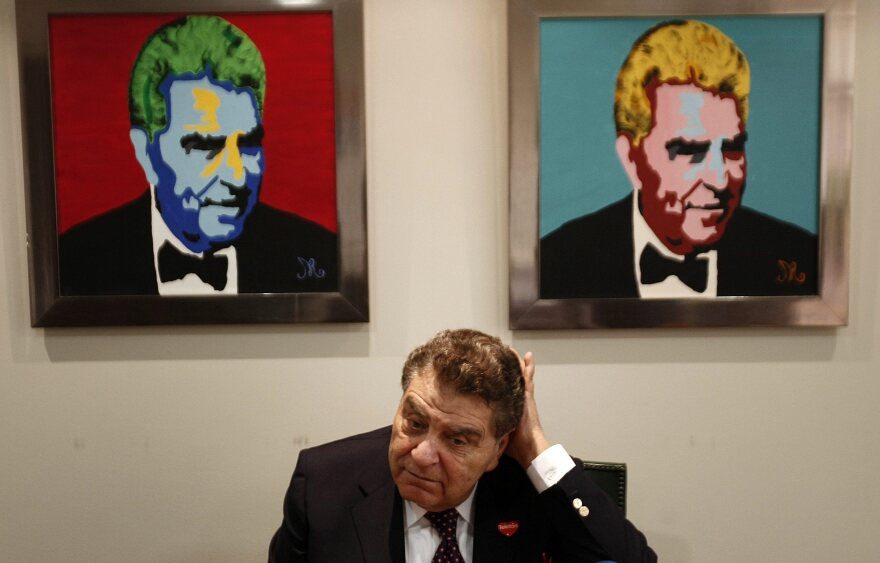 Chilean TV host Mario Kreutzberger, seen here in 2012, will stop making his <em>Sabado Gigante</em> show this September.
