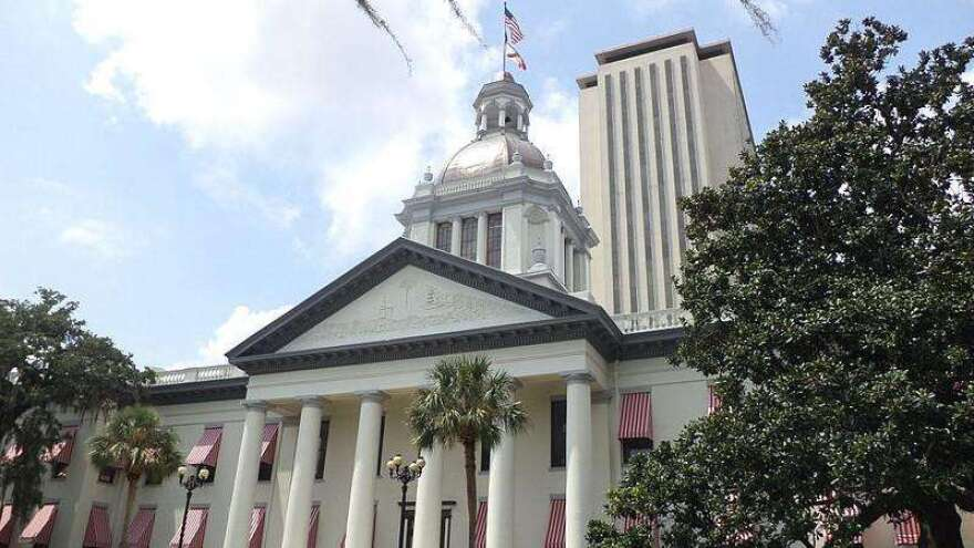the Florida state capitol building