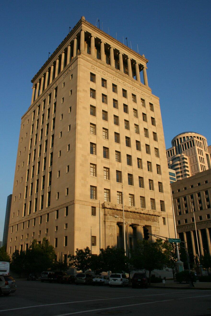 Civil Courts building, St. Louis