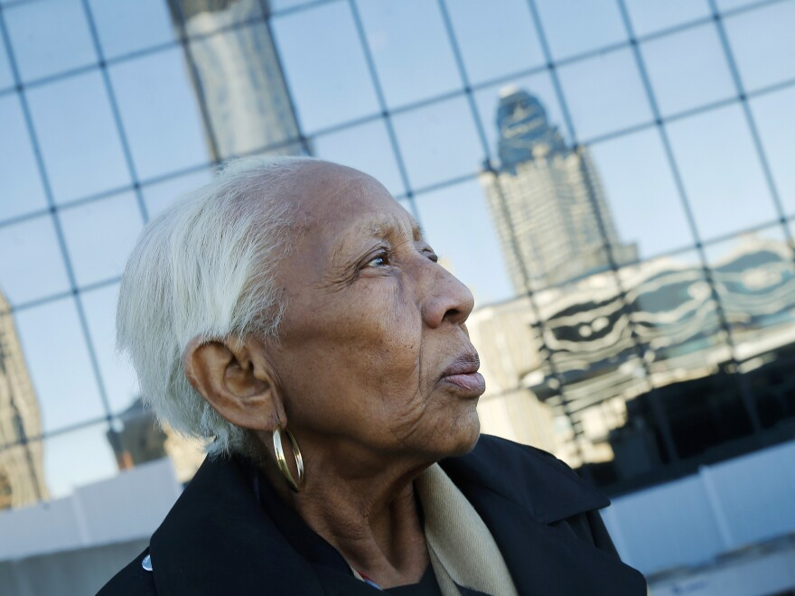 """<a href=""""http://www.npr.org/search/index.php?searchinput=%22doris+payne%22&dateId=0&programId=0"""" target=""""_blank"""">Doris Payne</a> has managed to walk off with pricey jewels in countless thefts around the world for more than six decades, according to authorities."""