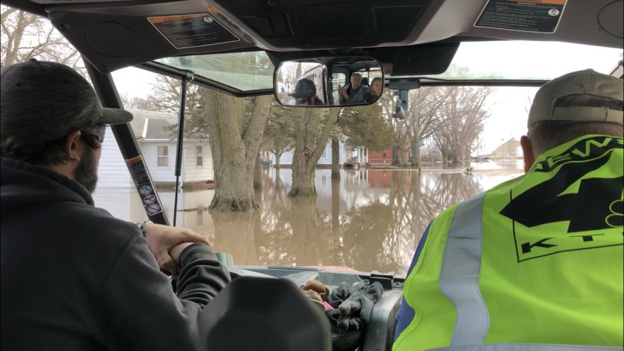 flood in hornick