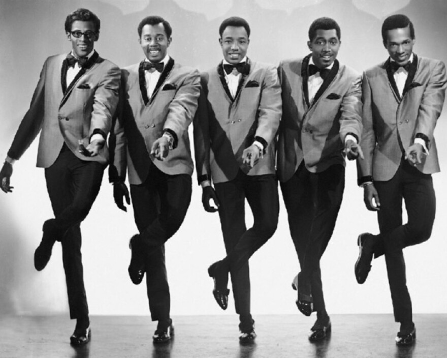 The Temptations in 1968